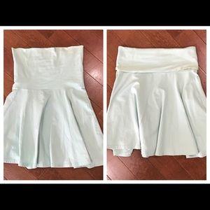 Am.  Apparel Converted High Waisted Skirt to Dress